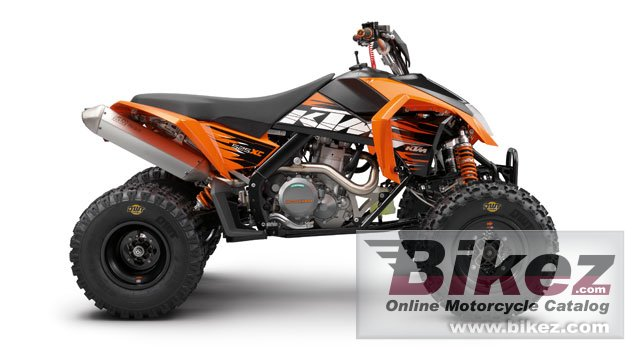Big KTM 525 xc picture and wallpaper from Bikez.com