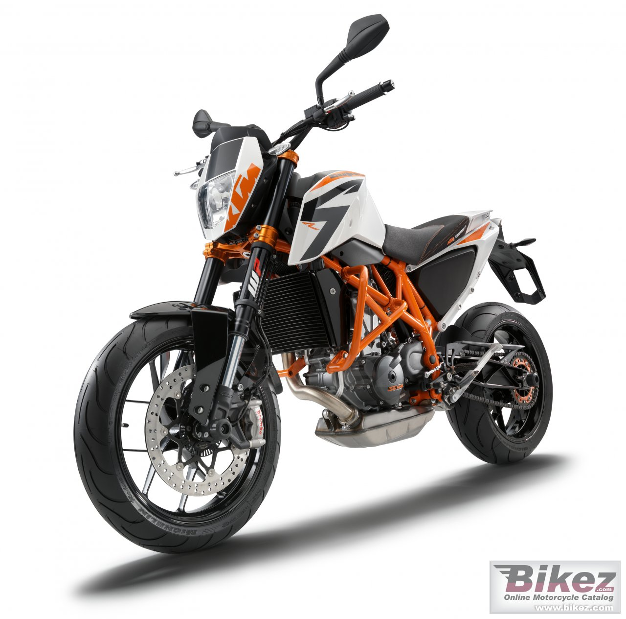 Big KTM 690 duke r picture and wallpaper from Bikez.com
