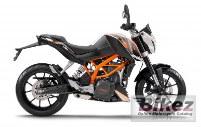 2014 KTM 390 Duke ABS photo