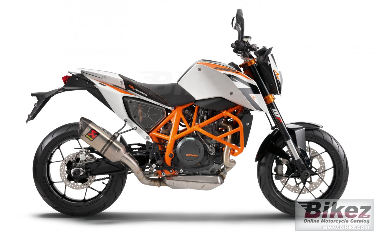 Big KTM 690 duke r abs picture and wallpaper from Bikez.com