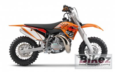 2014 KTM 50 SX Mini photo