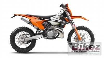 2017 KTM 300 EXC specifications and pictures
