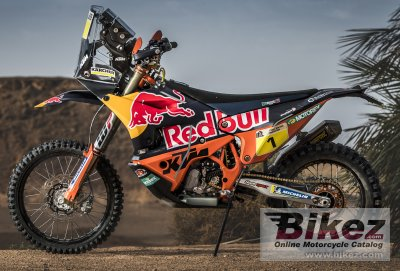 2018 KTM 450 Rally Prototype
