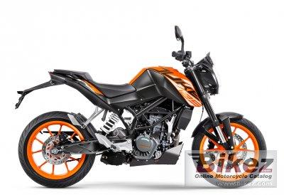 2020 KTM 125 Duke