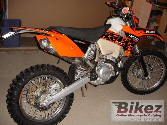 KTM MXC 450