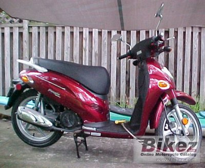 2004 Kymco People 150 photo
