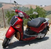 2004 Kymco People 250 photo