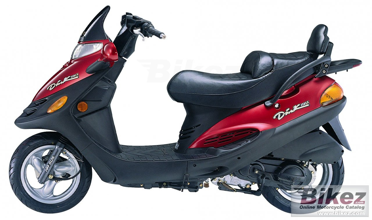 Kymco dink - yager 150