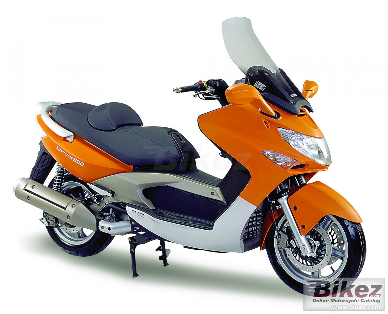 Big Kymco xciting 500 i picture and wallpaper from Bikez.com