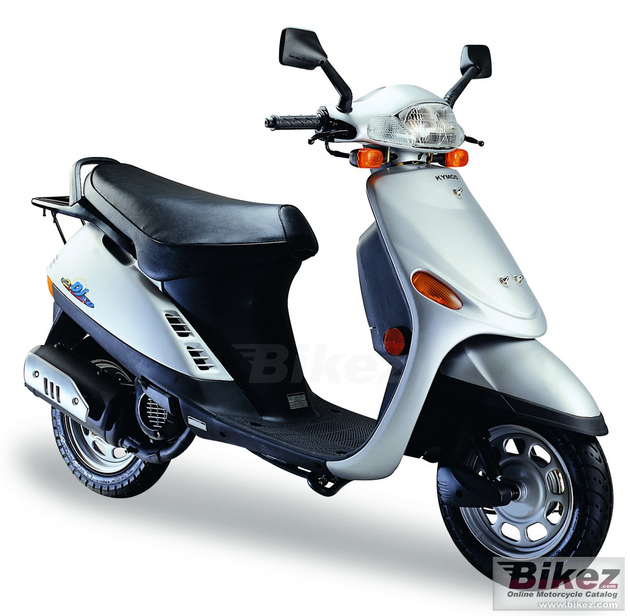 Big Kymco dj refined 50 picture and wallpaper from Bikez.com