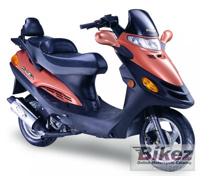 2006 Kymco Dink Yager 50 A-C