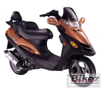 2007 Kymco Dink (Yager) 50 A-C photo