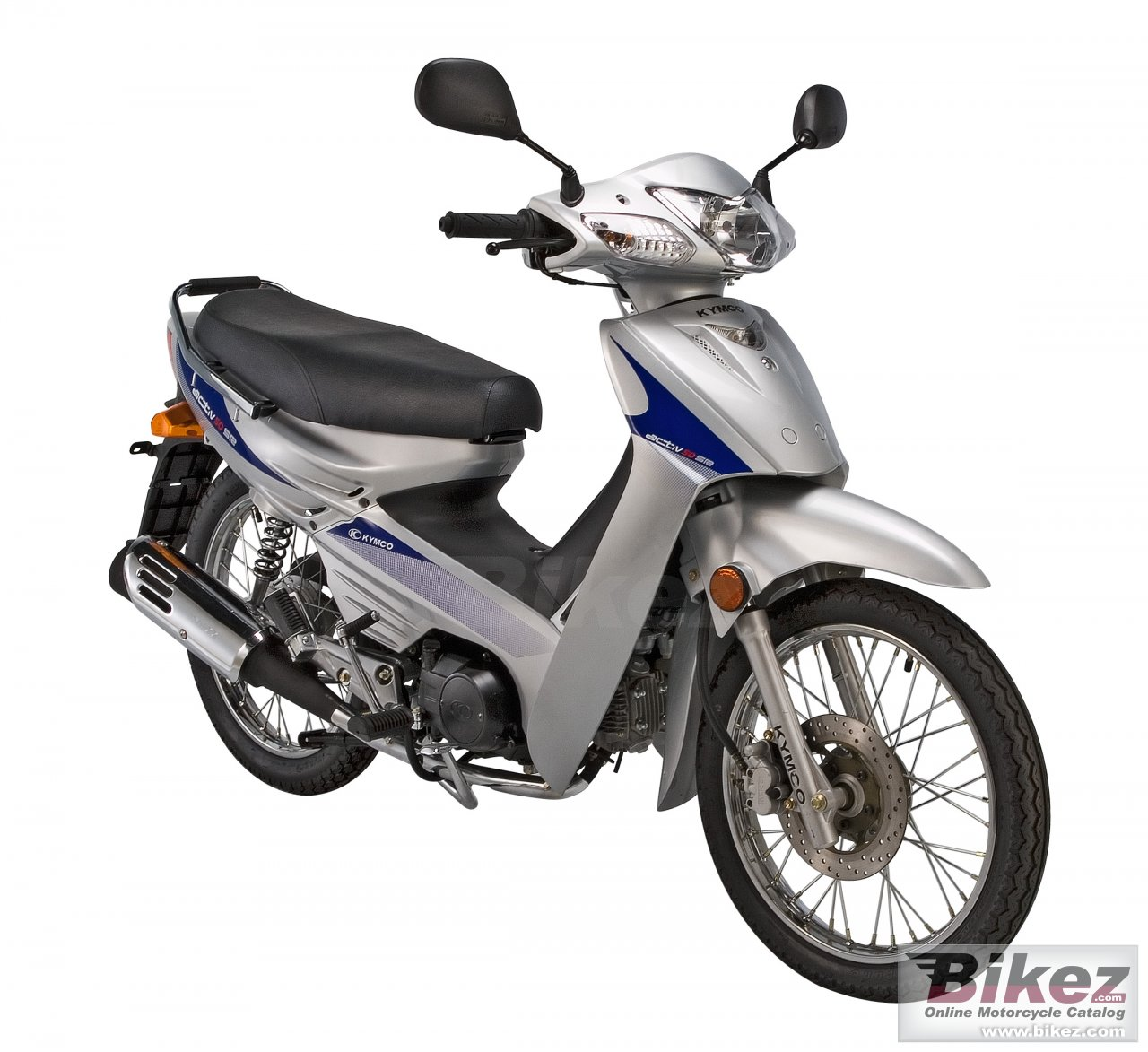 Big Kymco active sr picture and wallpaper from Bikez.com