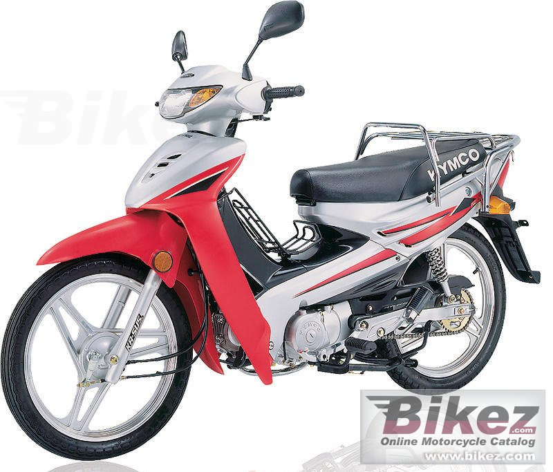 Big Kymco active sr 125 picture and wallpaper from Bikez.com