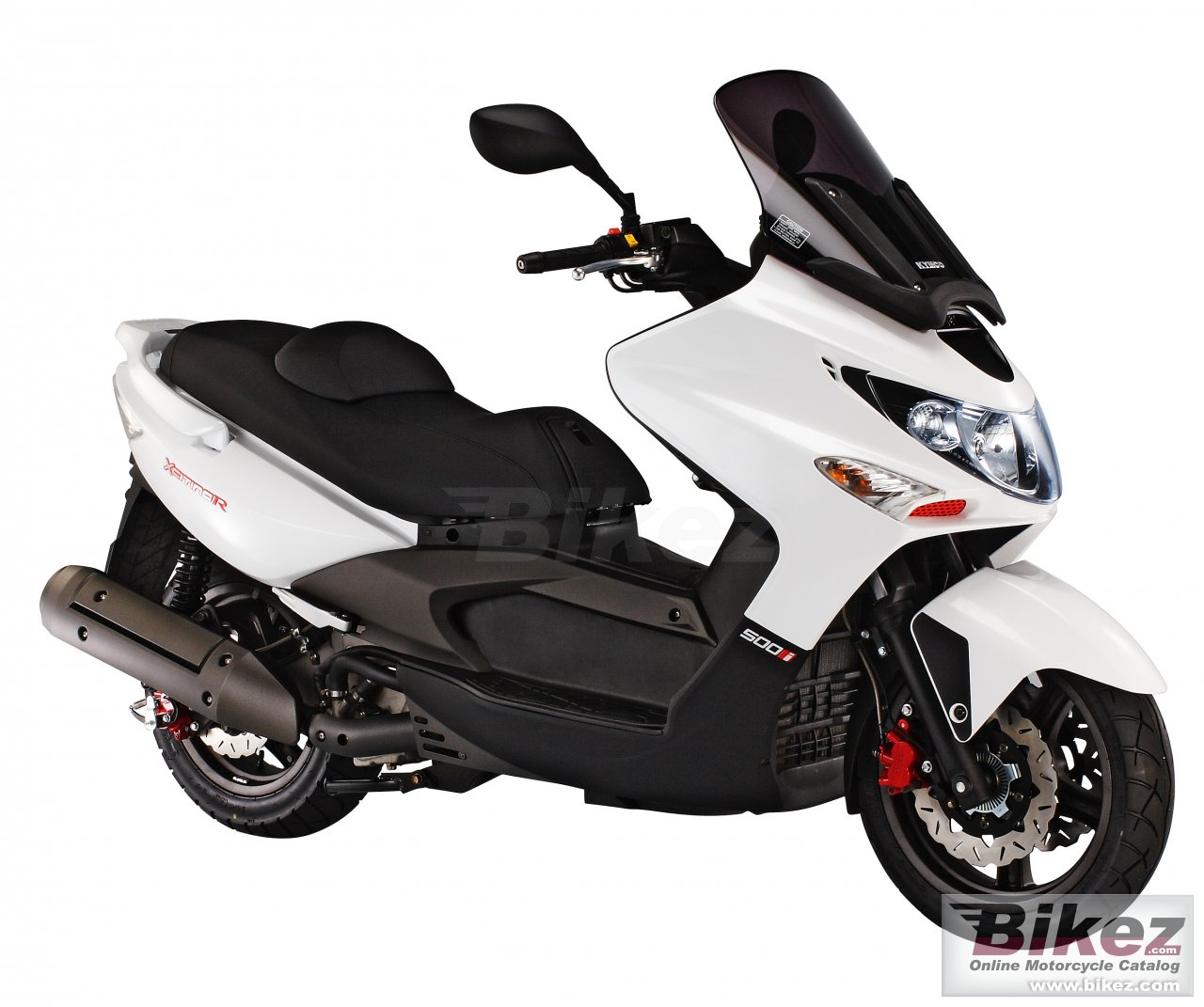 Big Kymco xciting r afi 500 picture and wallpaper from Bikez.com