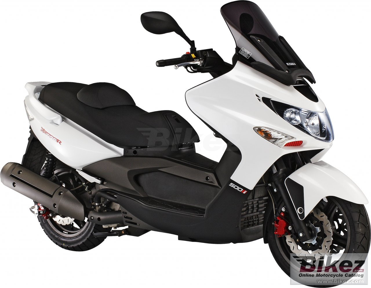 Big Kymco xciting 500ri picture and wallpaper from Bikez.com