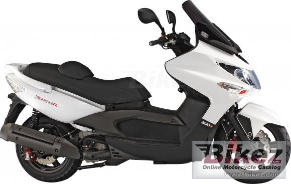 2009 Kymco Xciting 500Ri photo