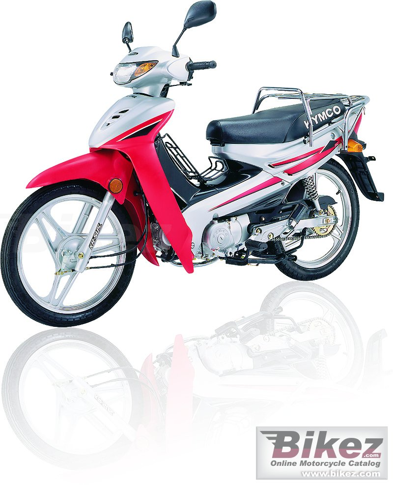 Big Kymco active 110 picture and wallpaper from Bikez.com