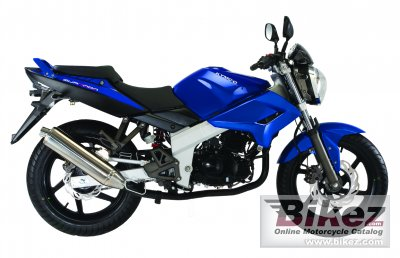 2010 Kymco Quannon Naked 125 photo