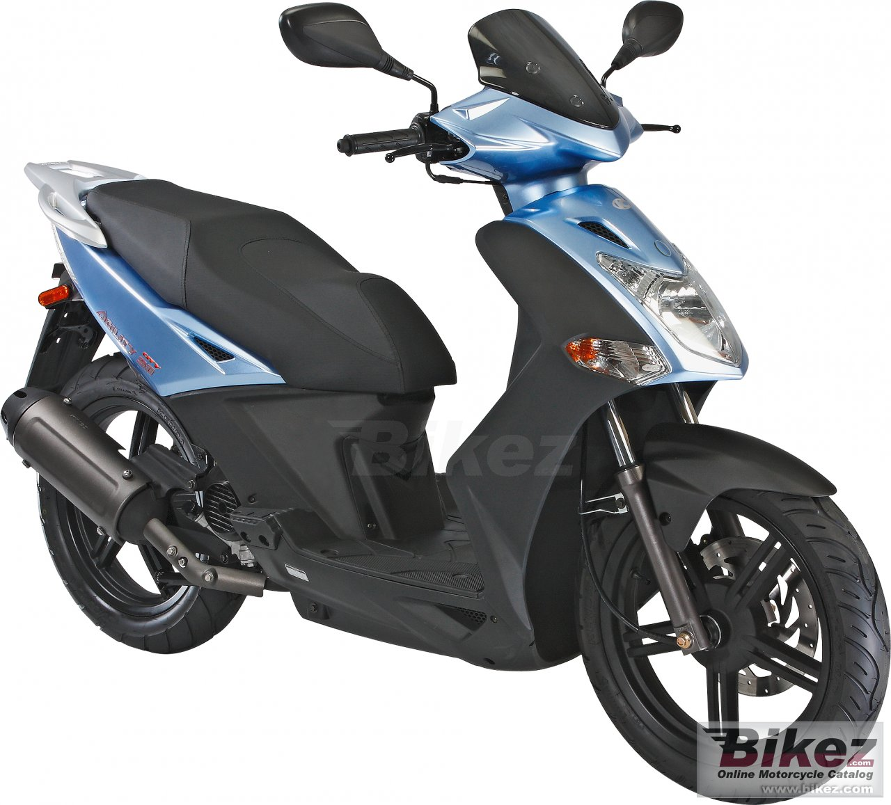 Big Kymco agility city picture and wallpaper from Bikez.com