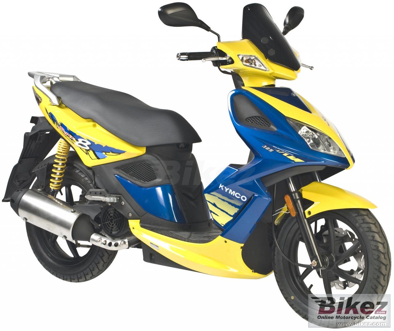 Big Kymco super 8 150 picture and wallpaper from Bikez.com