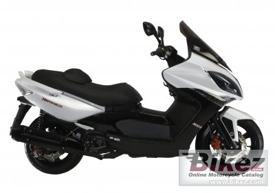 2010 Kymco Xciting 500 Ri photo