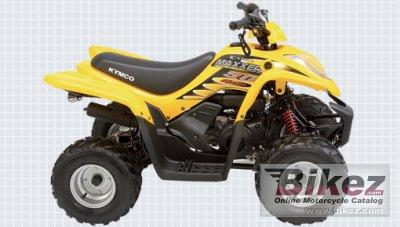 2010 Kymco Maxxer 50