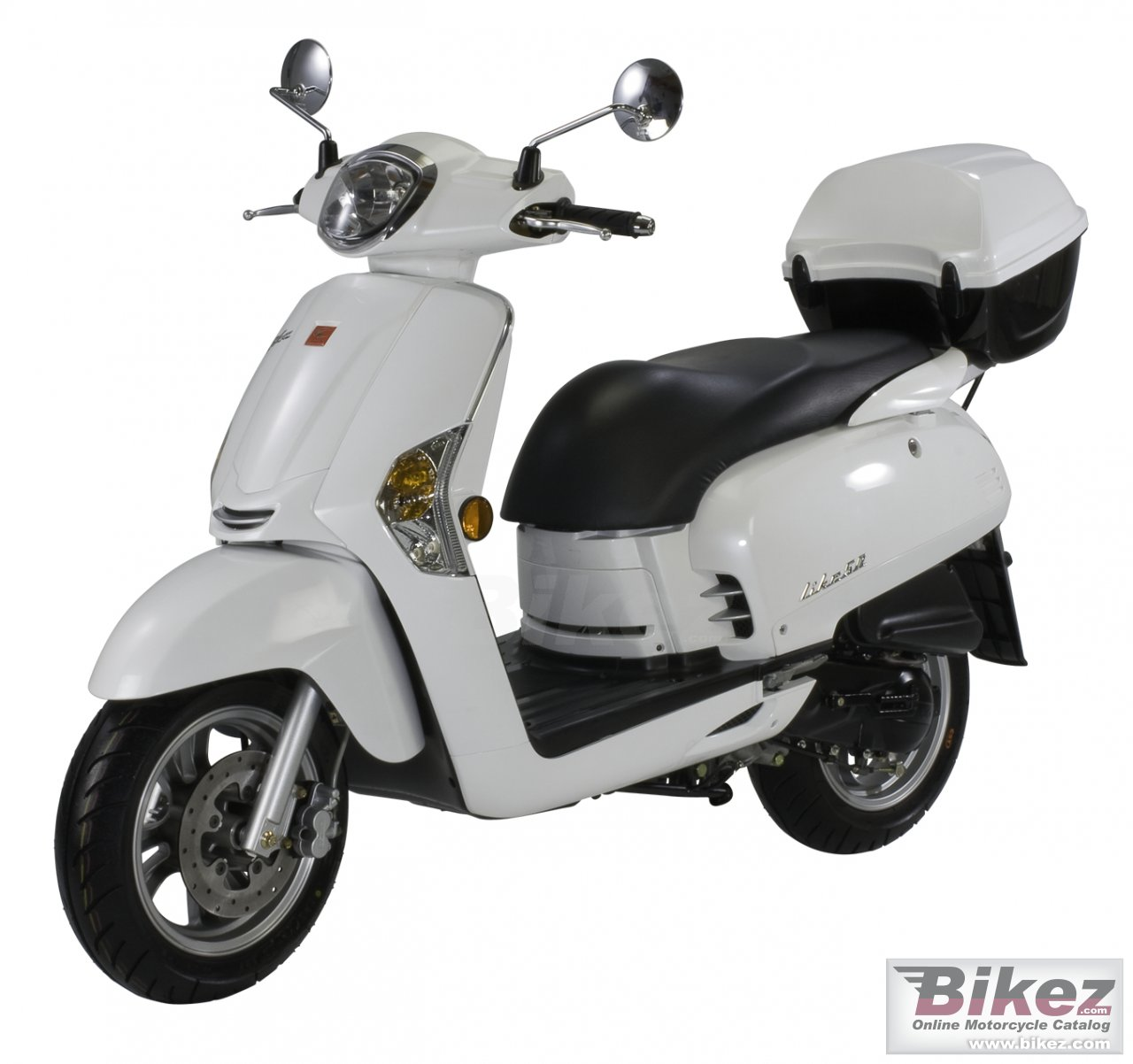 Big Kymco like 125 picture and wallpaper from Bikez.com