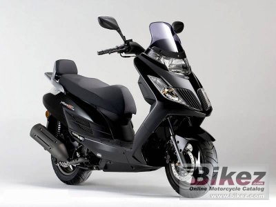 2011 Kymco Yager GT 125 photo