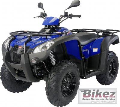 2011 Kymco MXU 500 RL
