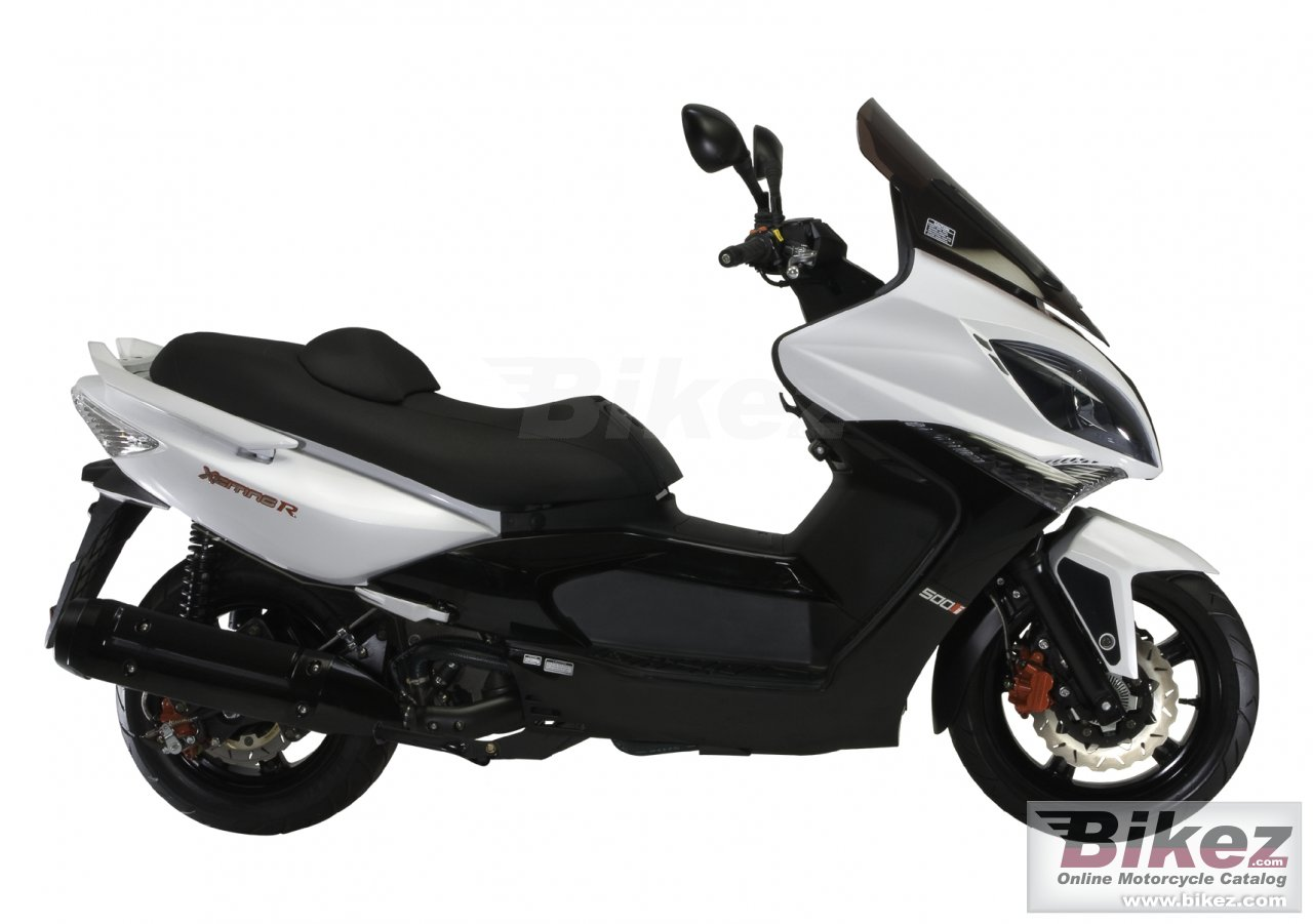 Kymco xciting 500ri abs