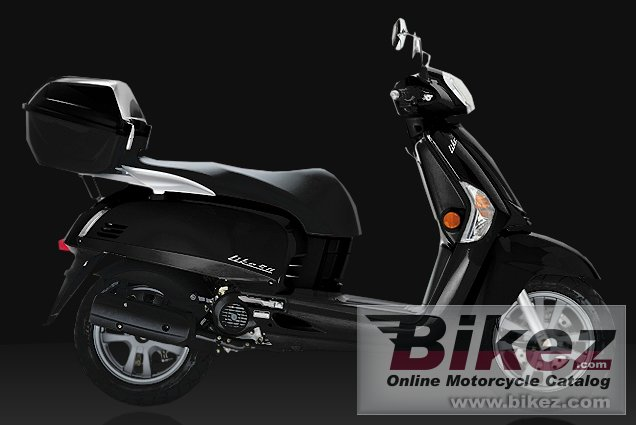 Big Kymco like 50 2t lx picture and wallpaper from Bikez.com