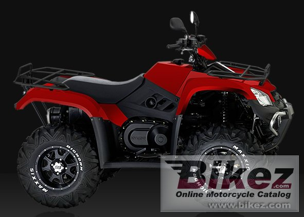 Big Kymco mxu 450i irs picture and wallpaper from Bikez.com
