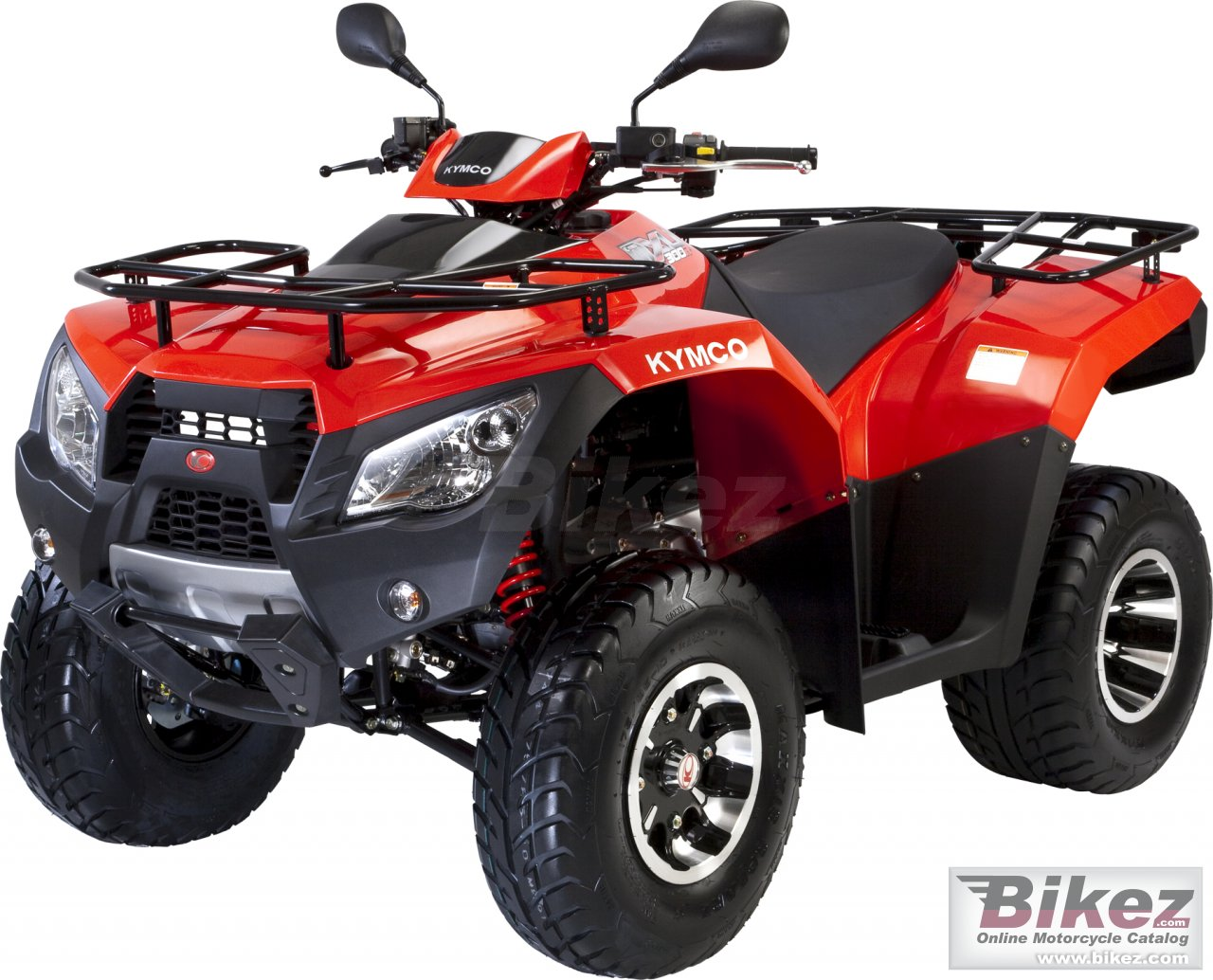 Big Kymco mxu 300 shaft drive picture and wallpaper from Bikez.com