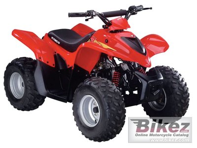 2012 Kymco Mongoose 70 photo