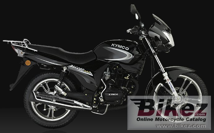 Big Kymco pulsar 125 lx picture and wallpaper from Bikez.com