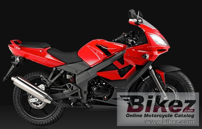Big Kymco kr sport 125 picture and wallpaper from Bikez.com