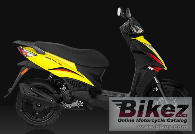 Big Kymco rs 50 picture and wallpaper from Bikez.com