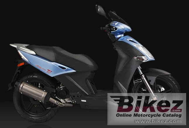 Big Kymco city 50 picture and wallpaper from Bikez.com