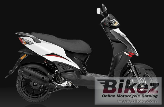 Big Kymco rs 125 picture and wallpaper from Bikez.com