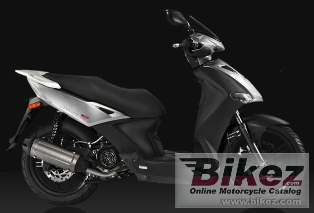 Big Kymco city 125 picture and wallpaper from Bikez.com