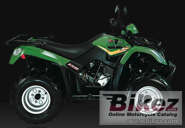 Big Kymco mxu 150 rl picture and wallpaper from Bikez.com