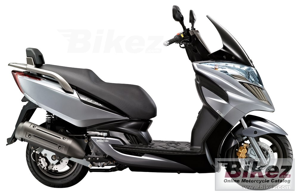 Big Kymco g-dink 125i picture and wallpaper from Bikez.com