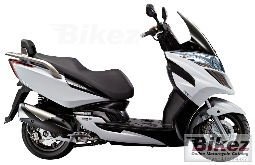 Big Kymco g-dink 300i picture and wallpaper from Bikez.com
