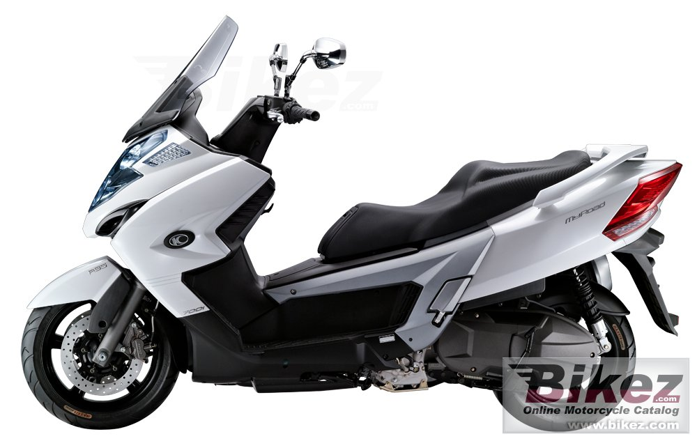 Big Kymco myroad 700i picture and wallpaper from Bikez.com
