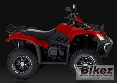2012 Kymco MXU 450i IRS
