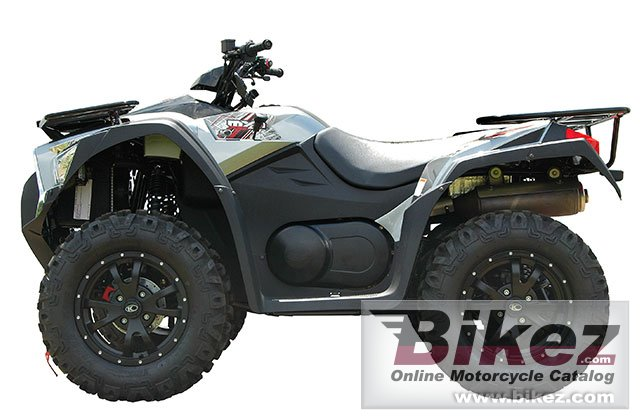 Big Kymco mxu 700i le picture and wallpaper from Bikez.com