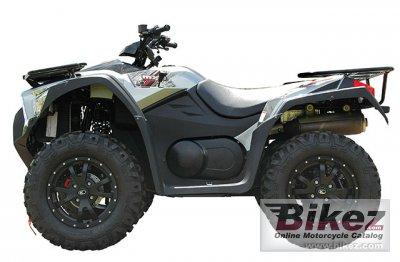 2013 Kymco MXU 500i LE