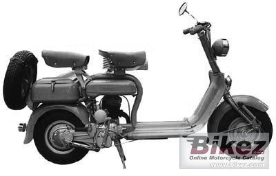 1950 Lambretta 125C