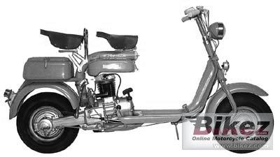 1953 Lambretta 125E